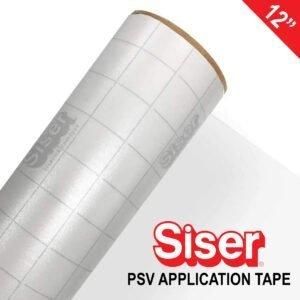 """SISER 12"""" EASY PSV CLEAR APPLICATION TAPE"""