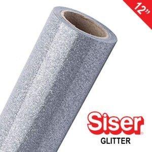 """SISER GLITTER 12"""" HEAT TRANSFER VINYL"""