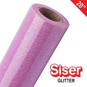 SISER GLITTER 20″ HEAT TRANSFER VINYL